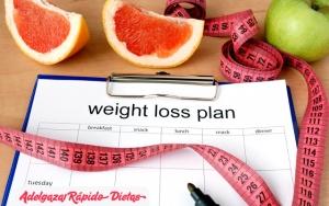 Planificar las dietas y comidas
