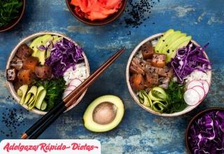 Dietas orientales y otros alimentos