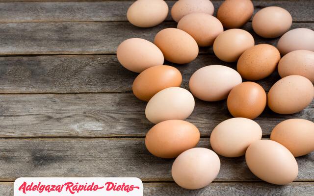 Huevos para suprimir el apetito