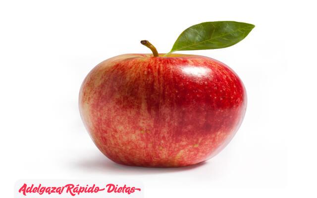 Manzanas para suprimir el apetito
