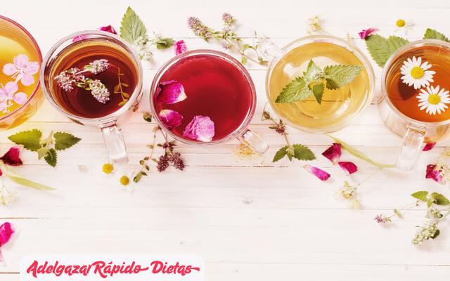 3 infusiones naturales para adelgazar