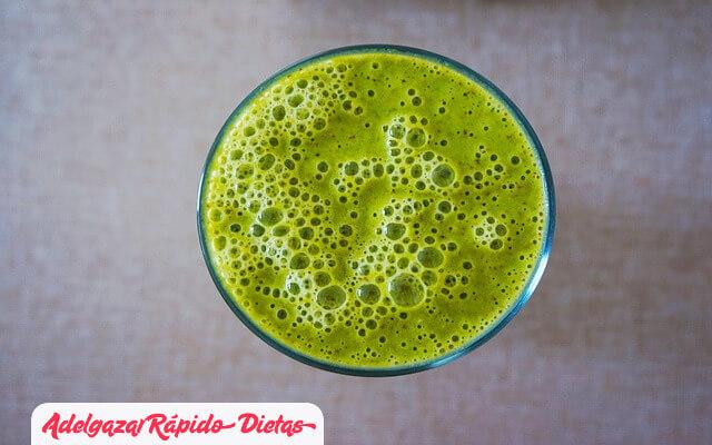 Beneficios de los batidos verdes para adelgazar (3)