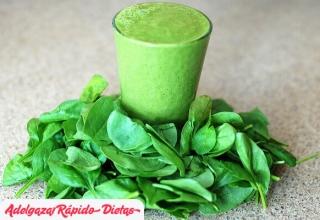 ¿Por qué conviene consumir batidos verdes para adelgazar?
