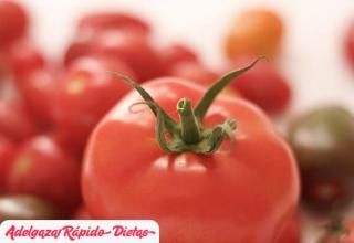 ¿Por qué comer tomate ayuda a adelgazar?