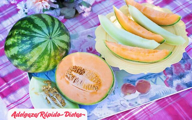 Melon para adelgazar
