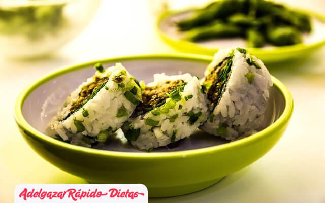 Mejor tipo de arroz al adelgazar